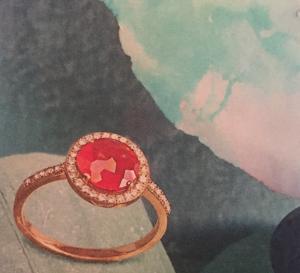 Orange summer ring