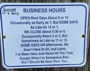 Surf Shop Hours of Operation