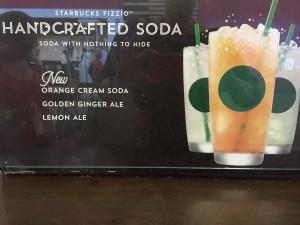 Handcrafted Starbucks Soda